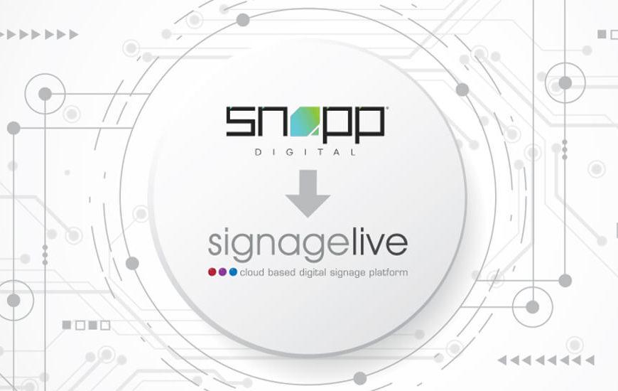 Snapp Digital Signagelive Partner App